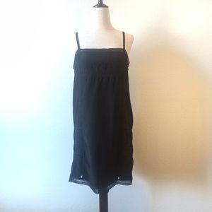 Diesel Black Silk Slip Dress